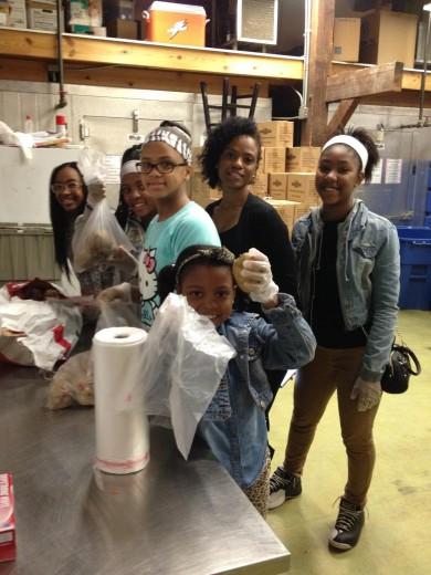 MLK Day volunteers 1