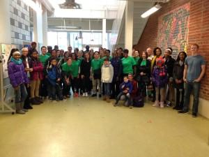 MLK Day volunteers 2