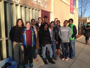 MLK Day volunteers 3