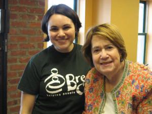Judy Stahl and Valentine Breitbarth