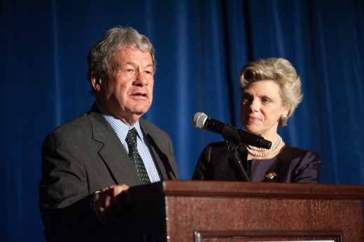Steve and Cokie Roberts at BFC's 40th anniversary gala