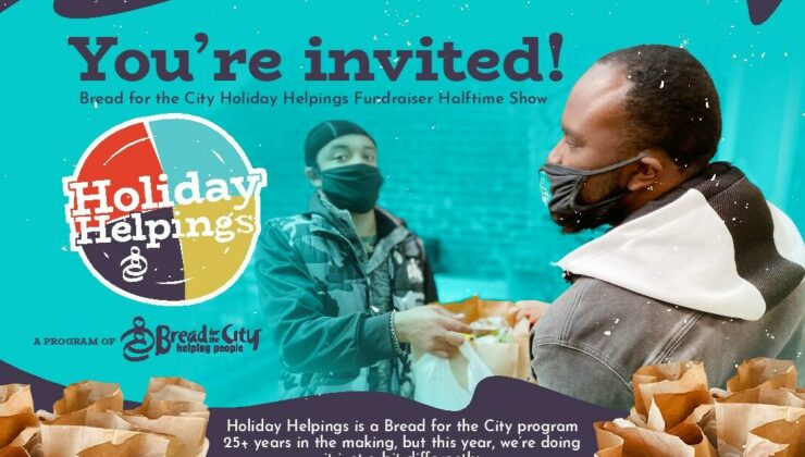 Holiday Helpings Virtual Halftime Show